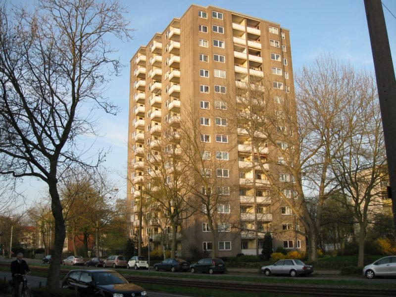 Bremen Schwachhausen H. H. Meier Allee Hochhaus 2009 04 09