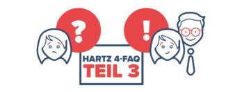 Hartz 4- FAQs – Fragen, die sich jeder Hartz 4-Empfänger stellt.