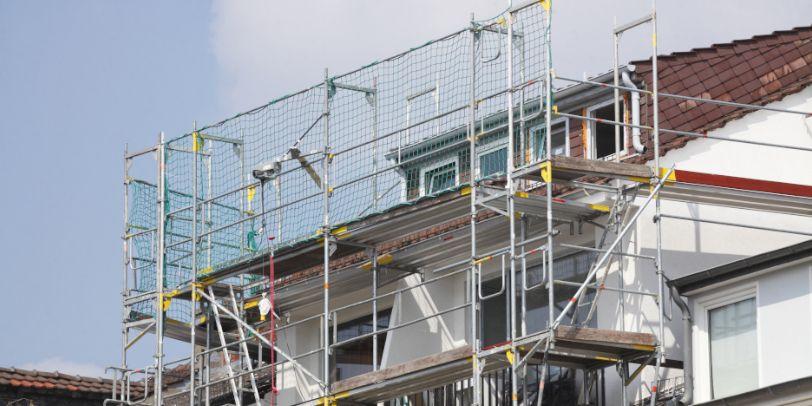 Renovierungsarbeiten am Haus