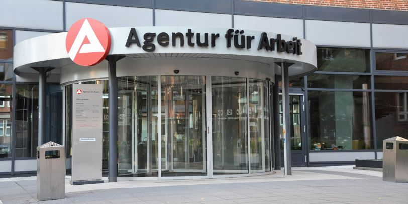 Eingang Agentur für Arbeit