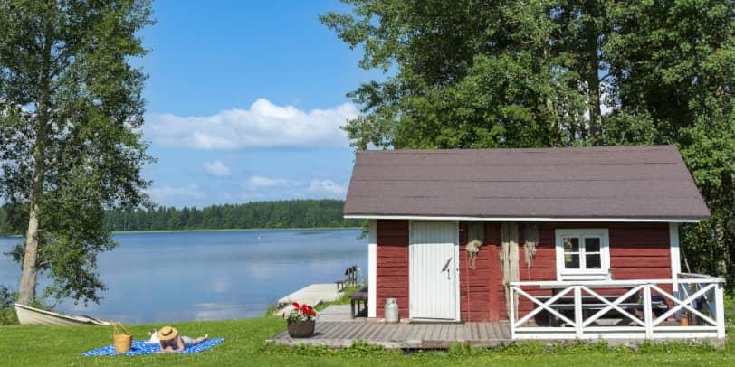 Muss man ein Ferienhaus bei Hartz 4 verkaufen?
