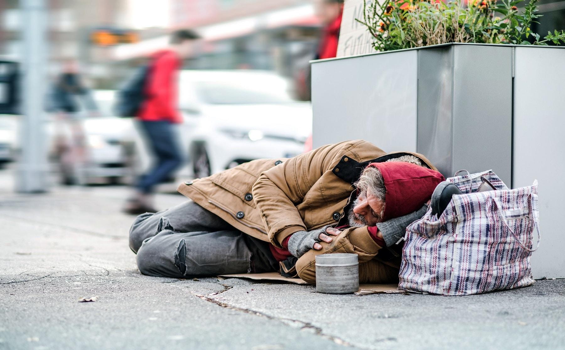 Hartz und Obdachlos